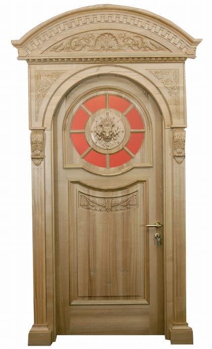 двери из массива древесины на заказ