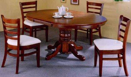 Купить кухонный комплект(стол и стулья) из дерева в интернет-магазине мебели. стол, стулья, кухонный стол