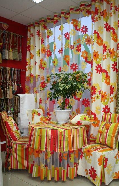 Докладніше про штори для кухні літнє