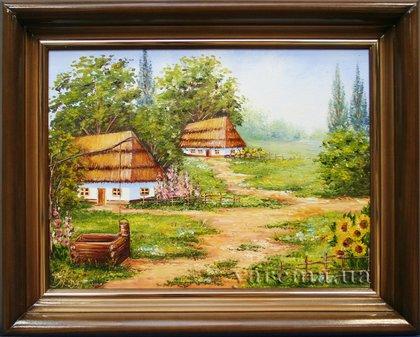 Масло холст розмір картини 30х40 автор