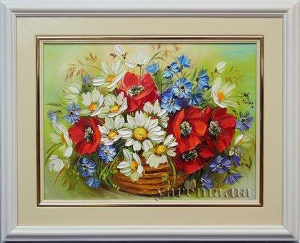 Грей алые как нарисовать букет цветов