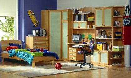 детская комната Бася