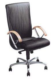кресло кожаное Noblesse