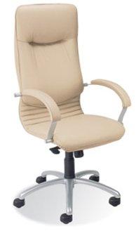 кожаное кресло  Nova steel LE
