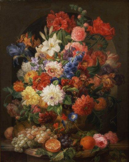 цветы в картинах:
