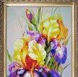 Картина Цветы. Ирисы, Картины - Ярема шторы (387 грн.)