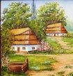 Картина Сельский пейзаж, Картины - Ярема шторы (415 грн.)