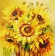 Картина маслом Квіти, Картини - Ярема штори (290 грн.)